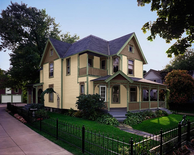 Victorian House Colors Exterior
