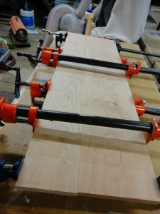 Top Panel Glue Up