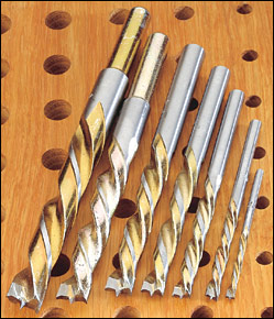 Carbide Drill Bits from Lee Valley & veritas