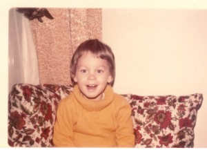 Me in December 1975 (2 1/2 years old)