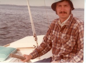 My dad (Ted Curtis) in Maine (Summer 1977)