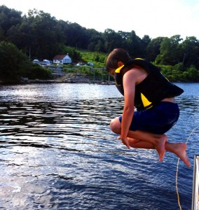 Will jumping off the boat