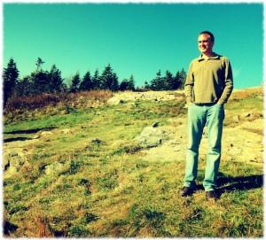 Visiting Mount Greylock.
