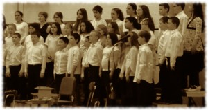 William singing in his 5th grade concert.
