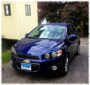 Our new car (2013 Chevy Sonic)