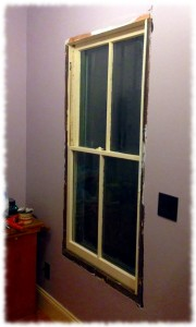 Window sashes hung. Now to install the trim when I'm feeling motivated enough to get the compressor in from the cold.