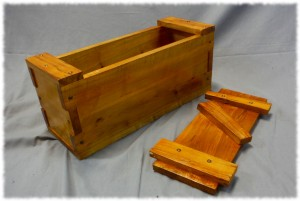 Benjamin's Japanese toolbox completed (minus handles). Made from maple and finished with shellac.