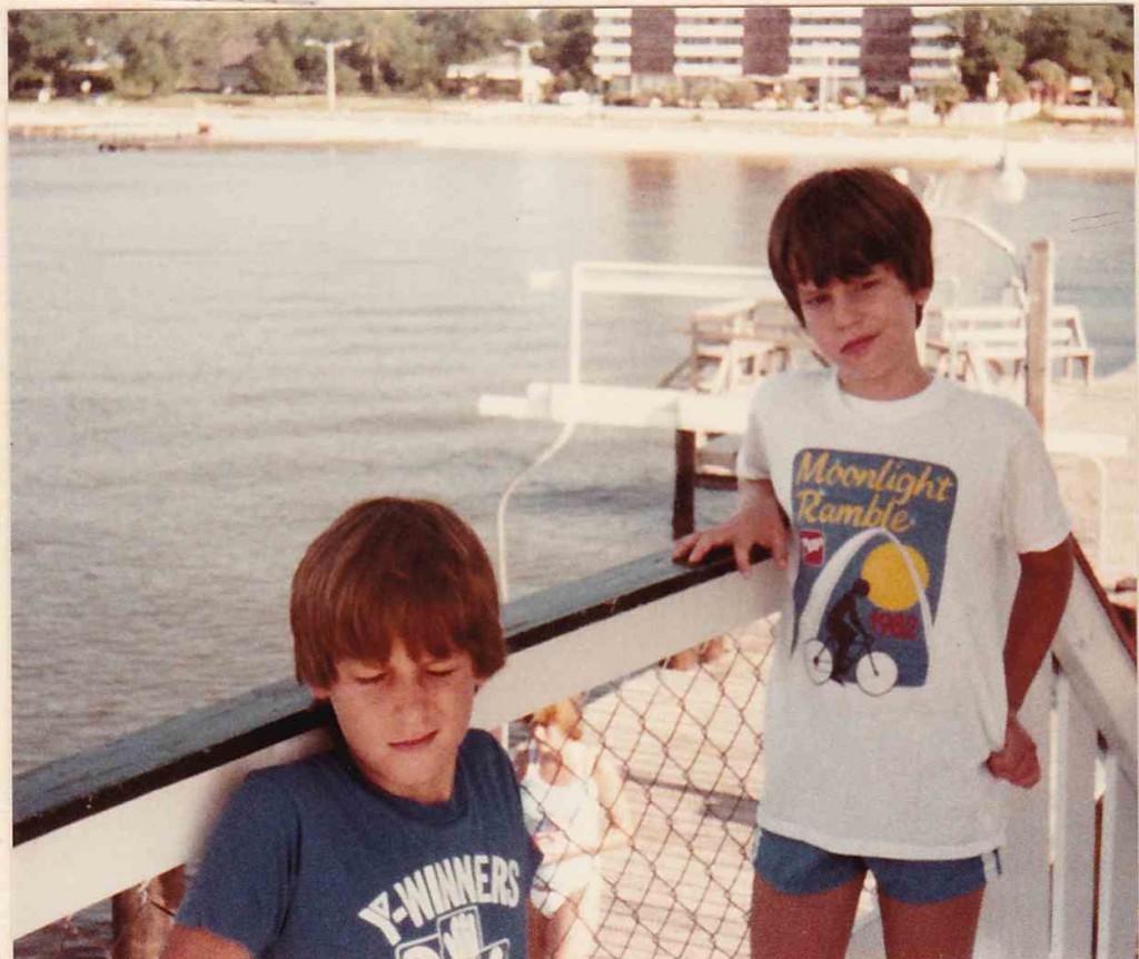 Bill and me, Biloxi, MS (1984)
