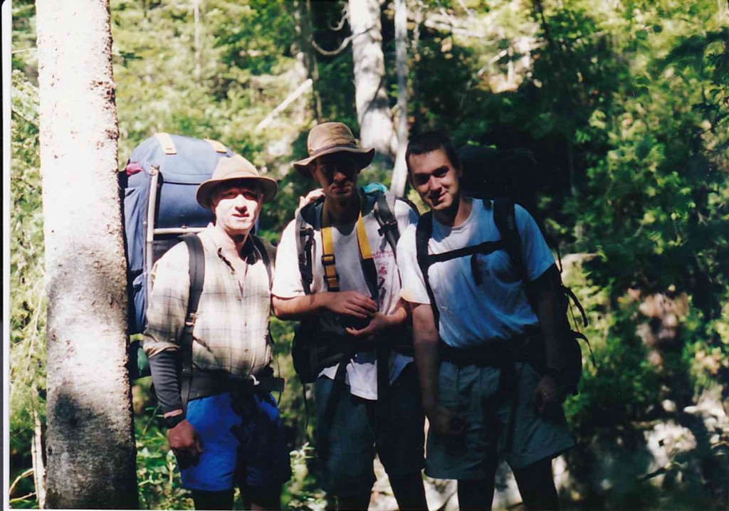 Backpacking with Bill and Dad (unknown year)