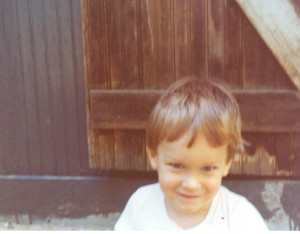A young me