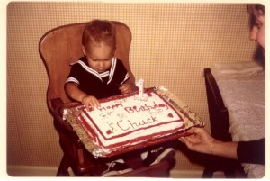 My first birthday (June 1974)