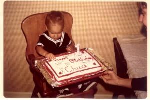 My first birthday (June 1974)