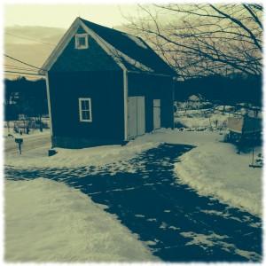 A cold morning in Preston, CT