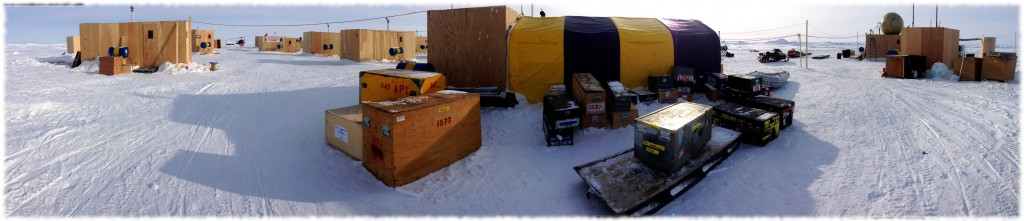 Panoramic Picture of the Ice Camp