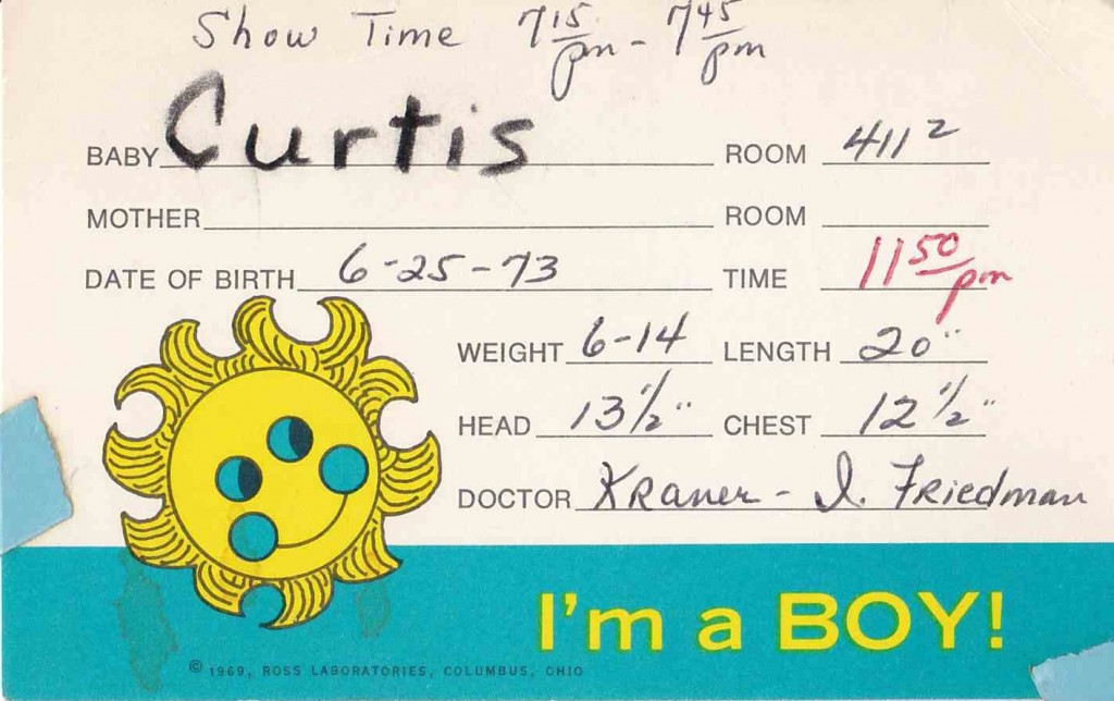 I'm a boy (June, 25 1973)