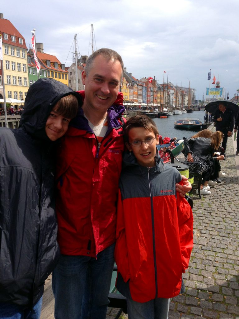 Visiting Nyhavn. A must see when visiting Copenhagen.