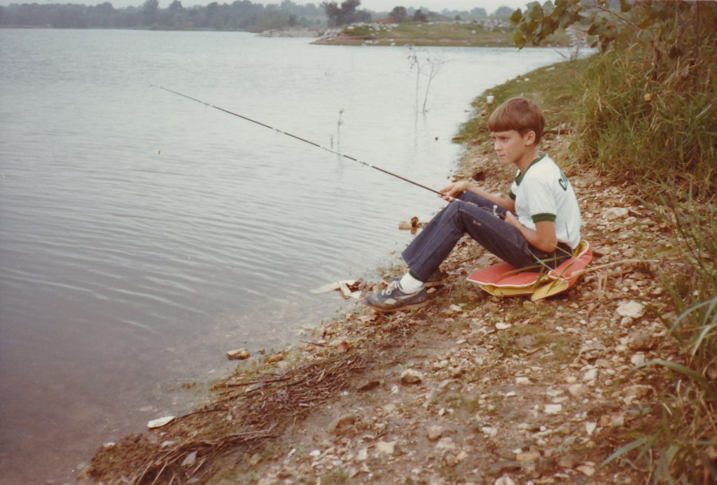 Chuck, Fishing 1982
